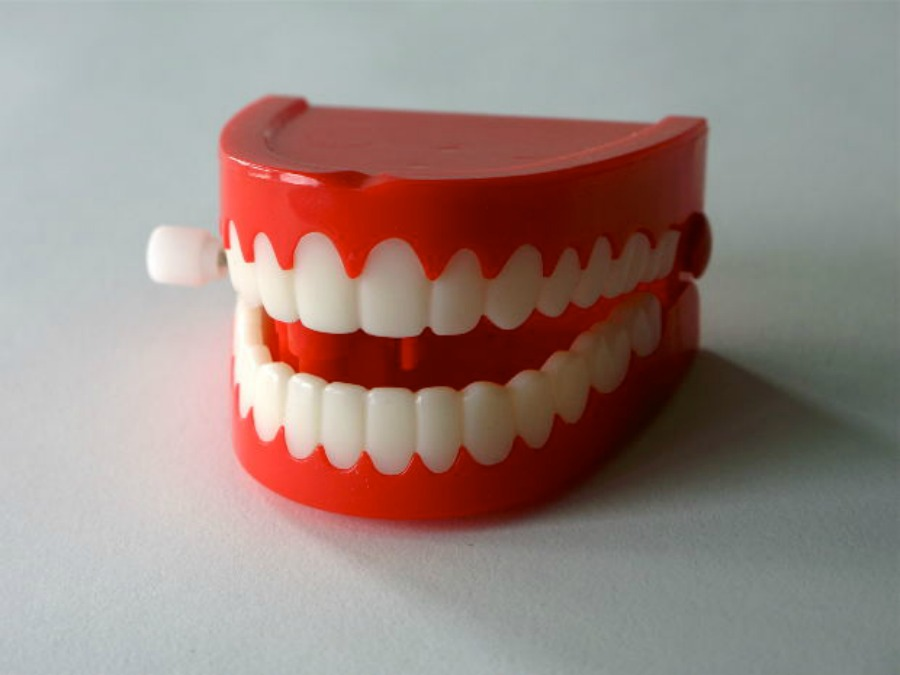 Chatty teeth for April fool's day