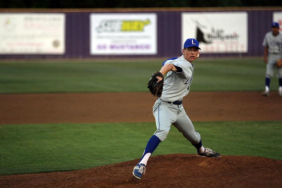 Joel Miller takes the mound against Marble Falls.