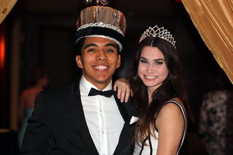 Nancy, Matthew win prom king & queen
