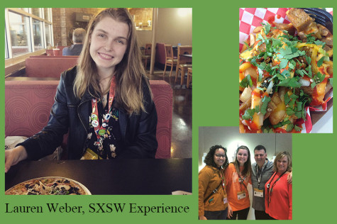 Senior Lauren Weber shares her SXSW experience in volunteering