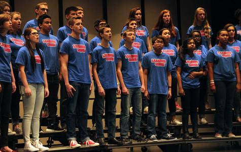 The Choir made history at UIL, winning Sweepstakes for Lion Heart and Mixed Women's Choirs.