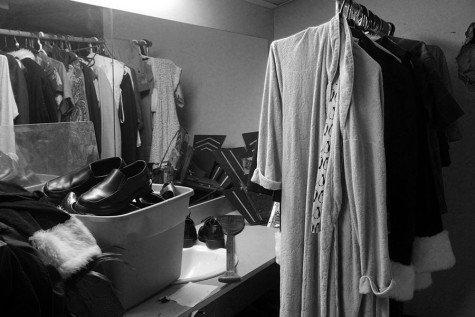 Dressing rooms are a big help to performances. Without a costume the character couldn't be created as easily, dressing rooms allow for that to happen.