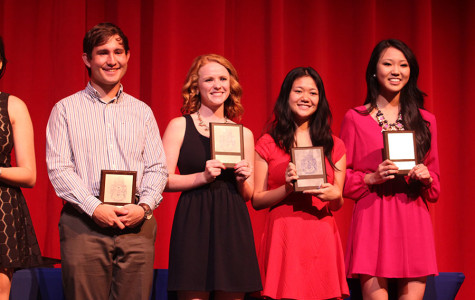 From left to right (ranks four to one): Alper Orkun, Molly Aldred, Holly Ekas, and Cherilyn Song