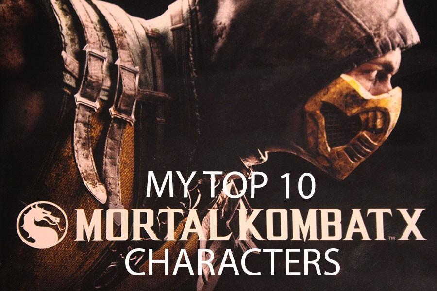 Top 10 Mortal Kombat X characters