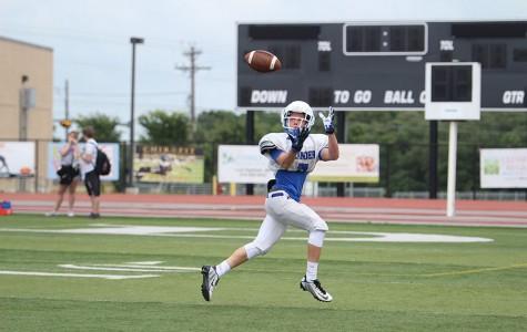 Spring football practice kicks off
