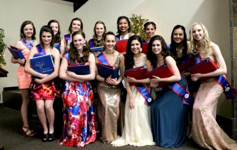 13 girls are selected to lead the 2015-2016 Leander Blue Belles team