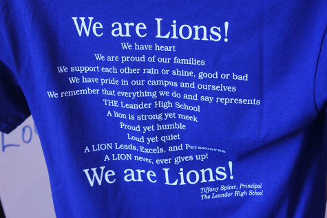 One of the t-shirts that are available at The Pride with Ms. Spicer