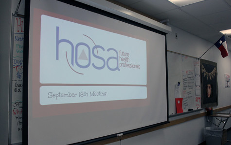 The HOSA classroom before their meeting. Usually, their meeting take place during Pride Time.