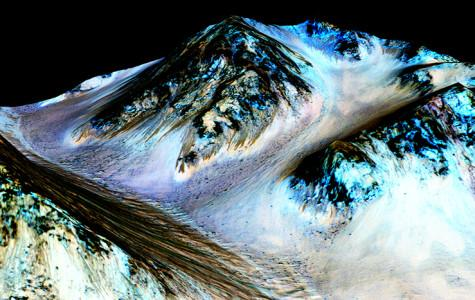 Mars shows evidence of water