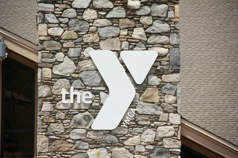 The YMCA sign at the YMCA Blue Ridge Assembly. Nationals for the Youth and Government program were at Black Mountain, North Carolina.