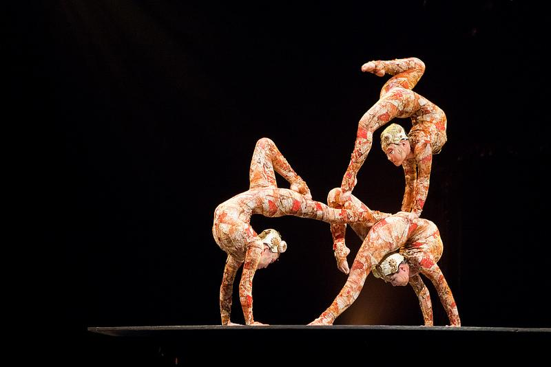 Kooza contortionists have been one of the many jaw dropping performances ever since the show began. They are also one of the icons of Cirque Du Soleil.
