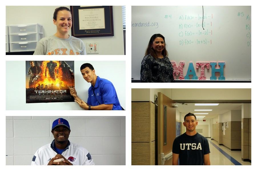 All of the new teachers on campus. A few of them are also coaches for athletics.