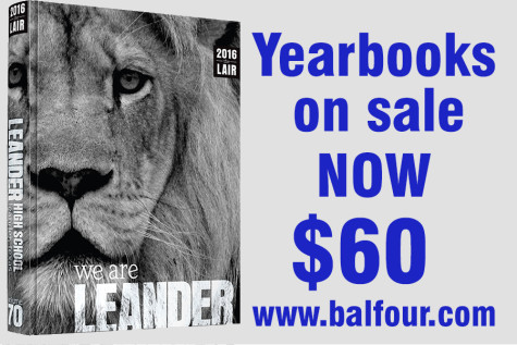 The yearbook is on sale now for $60. After October 31st the price will be raised to $65.