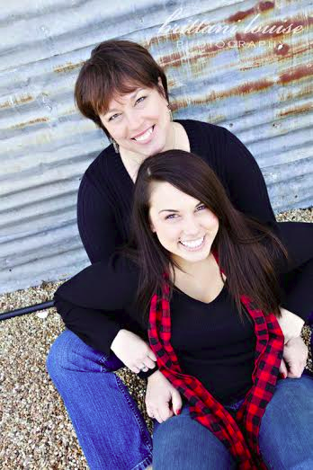 Traci Oliver and her daughter Whitney Striclyn.