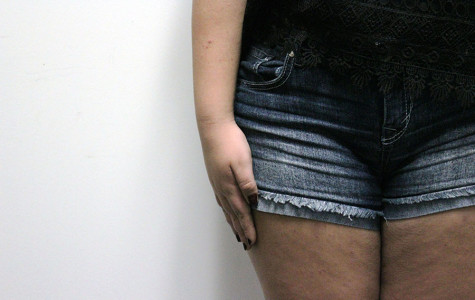 Students who are suspected of breaking dress code undergo the fingertip test. If the students fingertips pass their shorts, they are out of dress code.