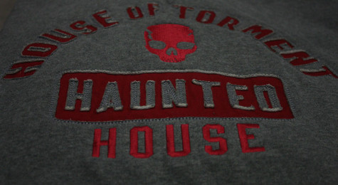 The House sells has t-shirts and hoodies available. House of Torment
