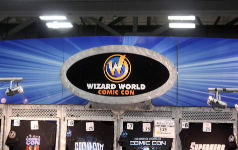 The entrance to Austin Comic Con. The convention took place on Oct. 30 and 31.