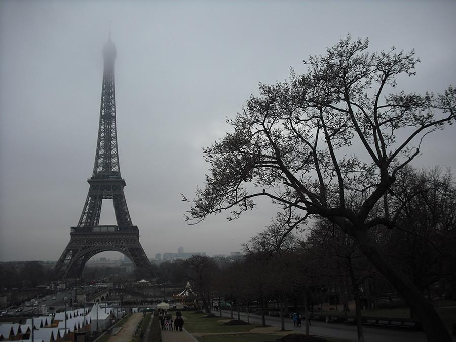 The Eiffel Tower in Paris. 129 were killed in the attacks in Paris.