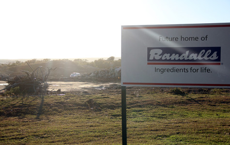 Building process for new Randalls begins