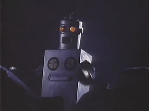 The robot in the film. The film scored a 2.5/10 on IMDb