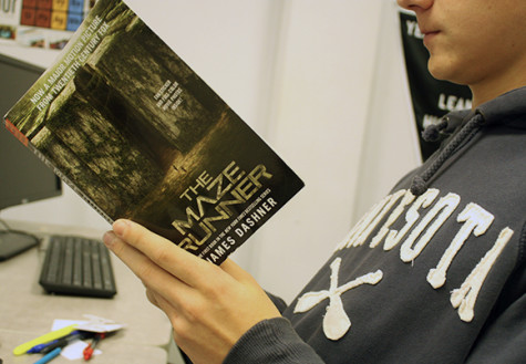 The Maze Runner is the new book that the book club will be reading. It was chosen in hopes of being more gender neutral so all readers in the club could enjoy it.