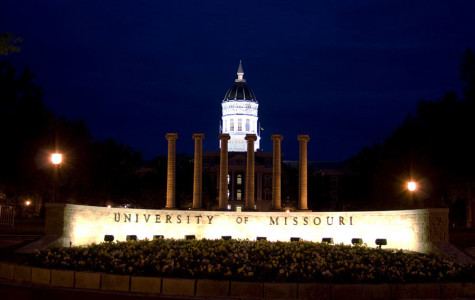 The entrance to the University of Missouri. The debate of freedom of press started after a student journalist was stopped from taking photos of a protest.