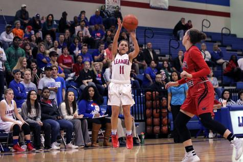 Varsity Girls' basketball jumps to new heights against McNeil, Round Rock