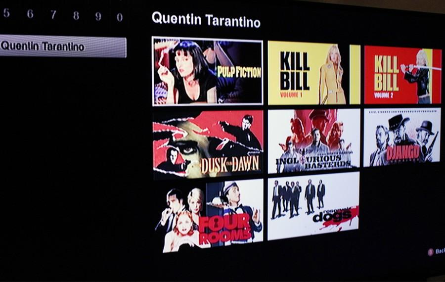 Quentin Tarantino's selection of movies on Netflix. This has been a successful way of allowing the younger generation to view movies that Tarantino produced in the 90's.