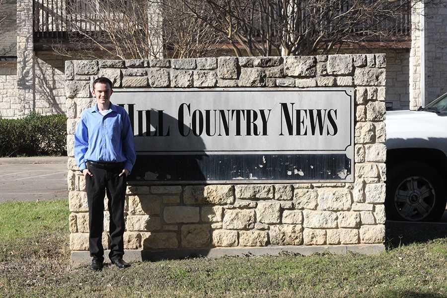I worked at Hill Country News for a week for COOL Week. The paper is community based and publishes once a week.