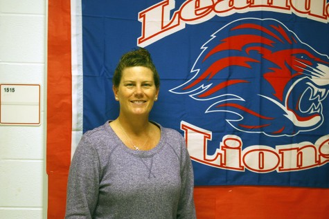 Athletic trainer Dawn Allen. She also works alongside Lauritzen for athletic training.