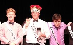 Jacob Potter crowned Mane Man