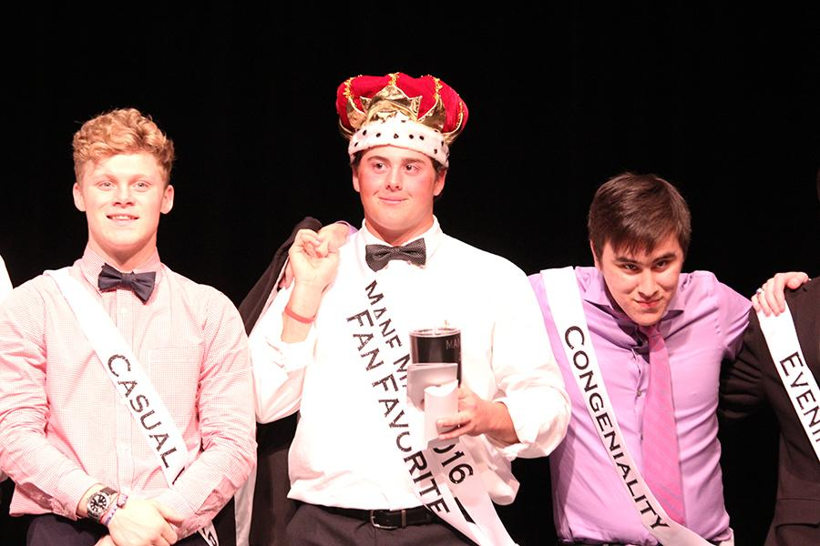 Senior Jacob Potter was crowned as Mane Man. Potter also won Fan Favorite at the event.