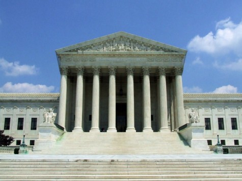 The Supreme Court is located in Washington D.C. There are nine justices but now only nine.