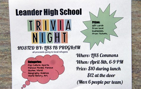 IB hosts trivia night