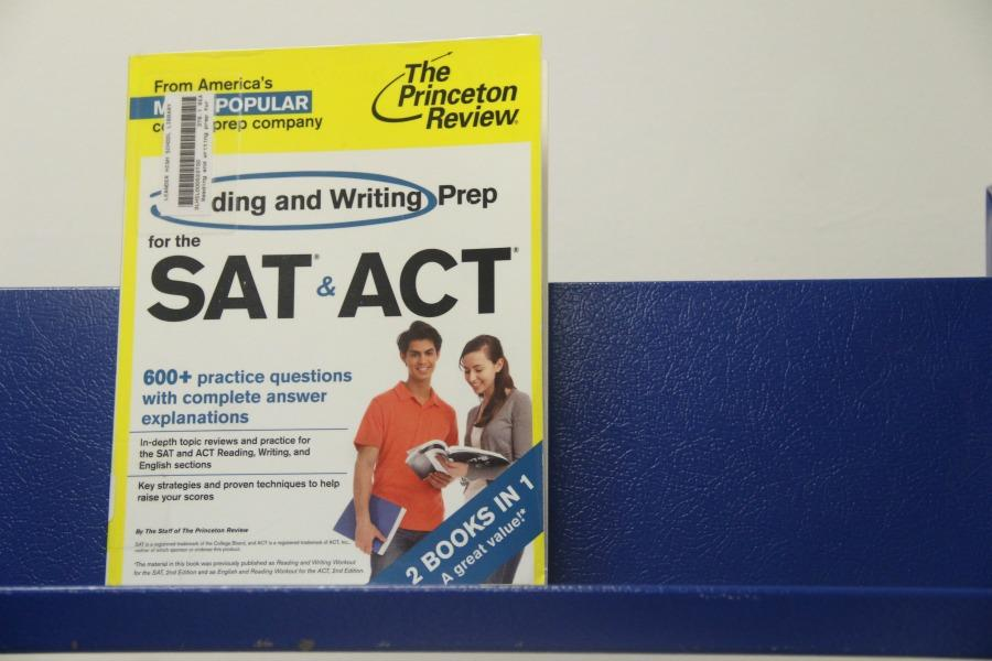 A study guide for both the ACT and SAT. Today the ACT was given during the school day.