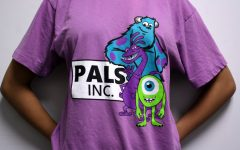 The PALS shirt for 2015-2016. Each PALS shirt is individualized with a unique nickname on the back.