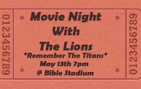 Football hosts movie night