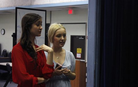 Senior directors Annika Lowe and Mathilde Le Tacon. They are directing 10 Things I Hate About You together.