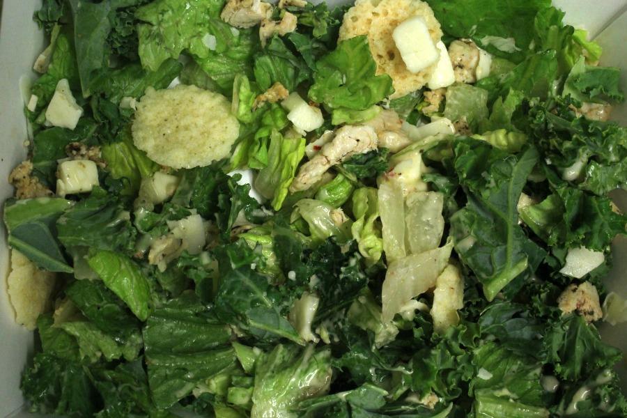 A Panera salad.