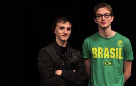 Seniors Dylan Robinson and Jacob Vaughn have written and directed two different original short films, entitled 'Quiet Stage' and 'Super' respectively. These films will be entered in a competition at the Texas Thespian Festival.
