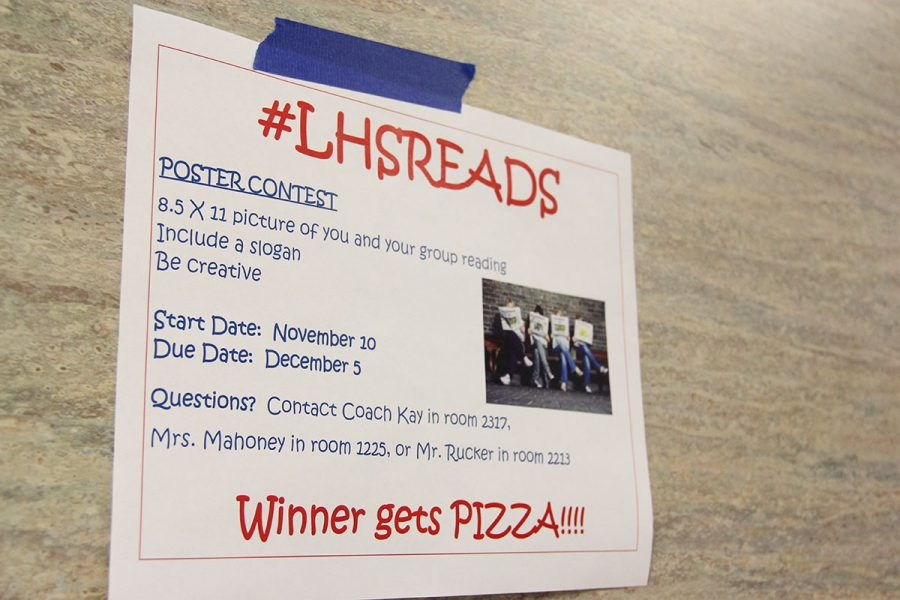 The+winner+of+the+poster+contest+gets+pizza.+This+is+the+first+year+of+LHSreads.