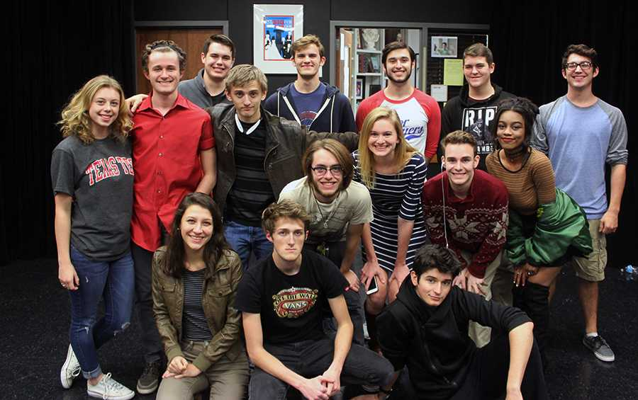 The cast of the school's production of One Flew Over the Cuckoo's Nest. They will begin rehearsals in January.