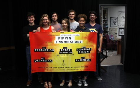 All leads from 'Pippin' were eligible for nomination. However, Senior Matthew Kennedy, who portrayed 'Leading Player', was the only actor nominated, for Best Actor in a leading role.