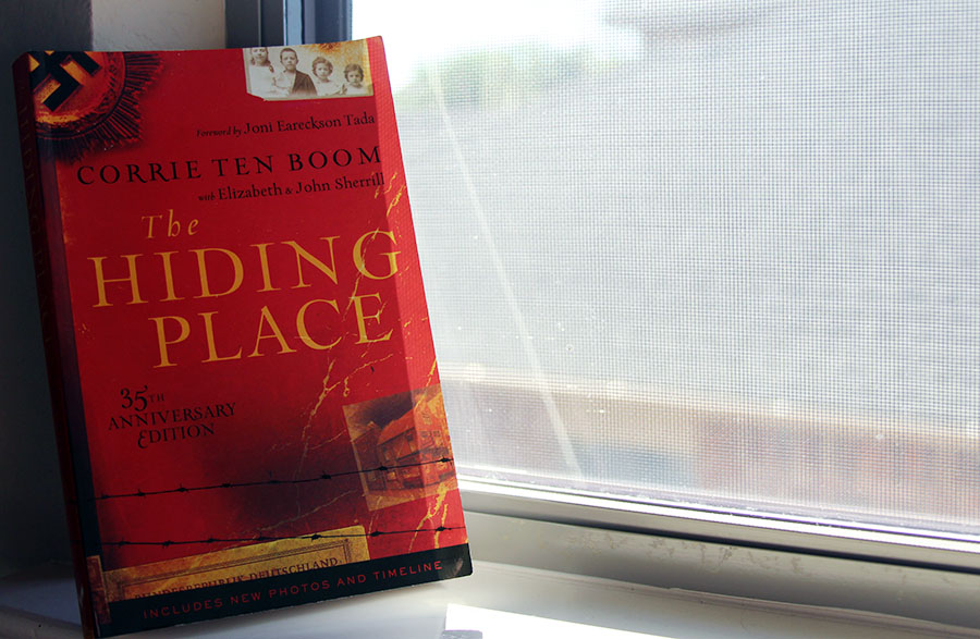 The Hiding Place highlights the lives of a family during Nazi occupation in the Netherlands. They created a secret room to hide people from raids by the Nazis.
