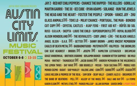 The official 2017 Austin City Limits Music Festival lineup. This year