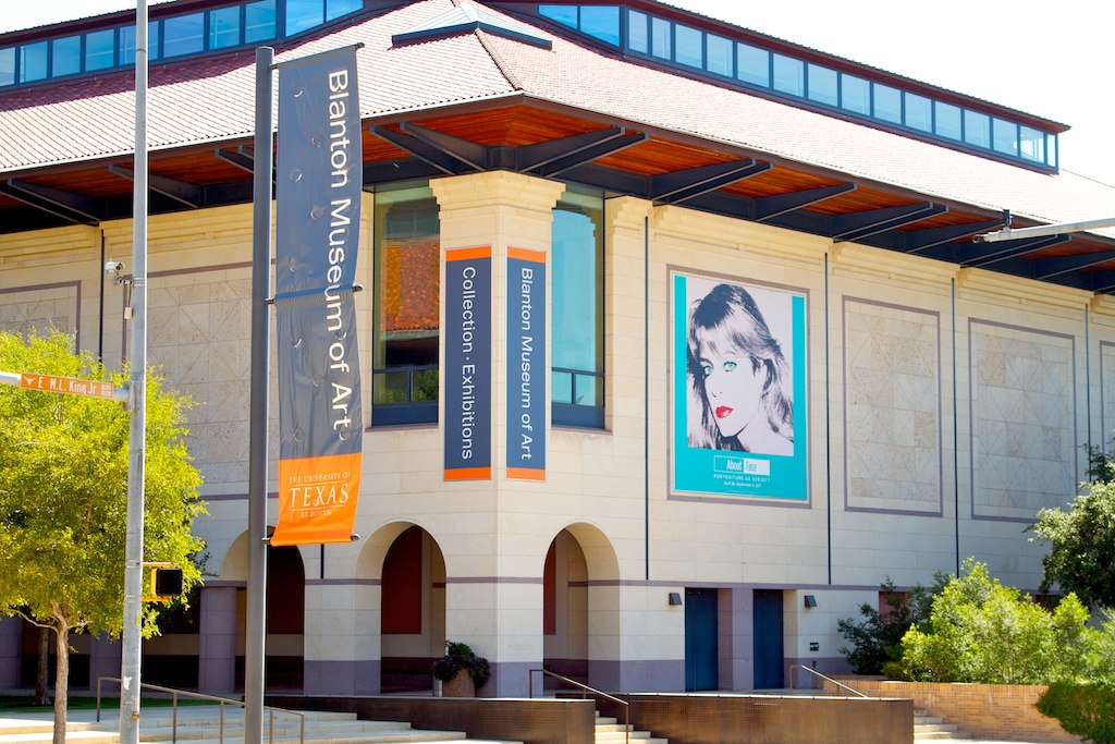 "The Blanton Museum of Art is a member of the Austin Museum Partnership with the UMLUAF Sculpture Garden & Museum, Bullock Texas State History Museum, and other museums. For Austin Museum Day, visitors can see exhibits like ""Epic Tales from Ancient India"" and ""Form into Spirit""."