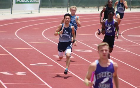 Josiah Sotomayor competed with the Leander Spartans Track Club. He placed 18th in the 4x800.