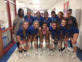 The Lady Lions beat the Rebels from Hays High School on October 20.