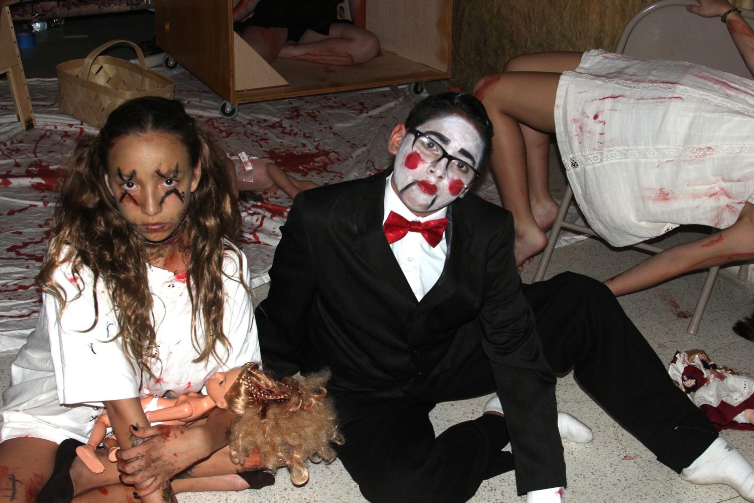 Haunted Hallway is one of the main attractions at Trunk or Treat every year. Each year, more and more people come to experience the frightening new hallway cheer comes up with.