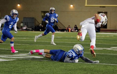 Raiders stun Lions in homecoming game